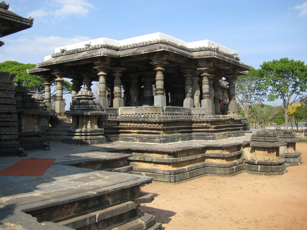 Bull Temple at halebidu