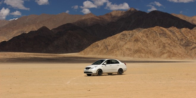 Car in Ladakh