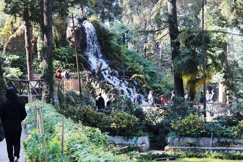 Company garden fall Mussoorie