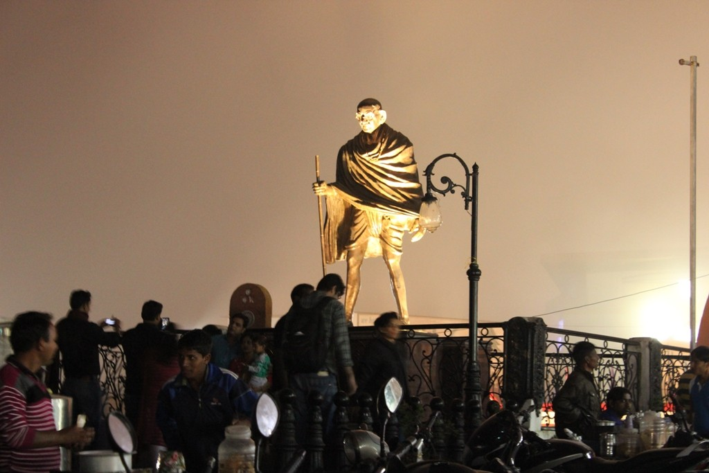 Gandhi statue Mussoorie