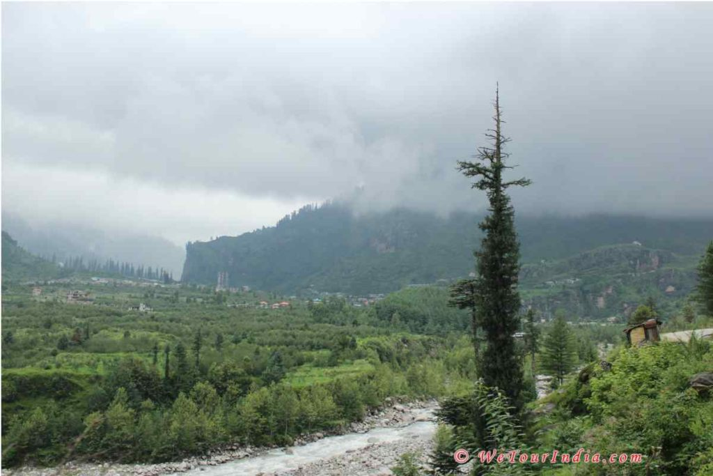 way to old manali