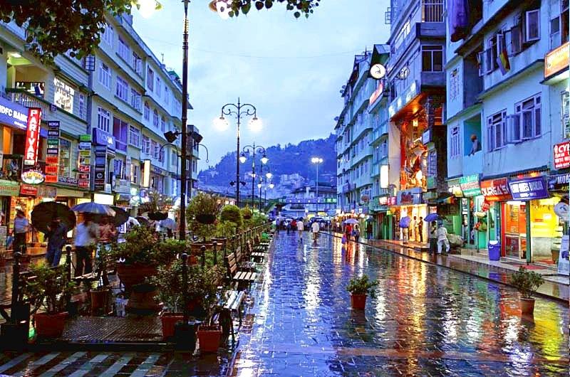 visit Gangtok in july